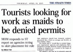 Foreigners on Tourist Visas to be Denied Work Permits